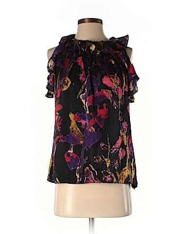 Milly Sleeveless Silk Top Size 6