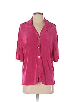 Jessica Holbrook Short Sleeve Blouse Size S