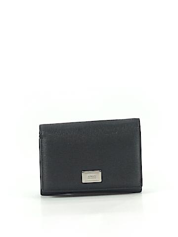 Armani Collezioni Leather Wallet One Size