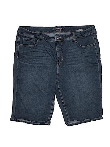 Seven7 Denim Shorts Size 24W (Plus)