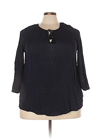 Merona 3/4 Sleeve Blouse Size XXL