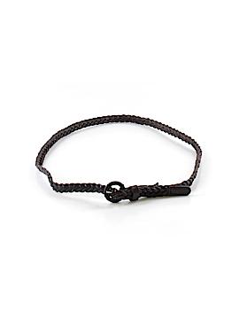 Tarnish Leather Belt Size XS