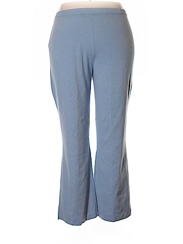 The Look by Randolph Duke Silk Pants Size 2X (Plus)