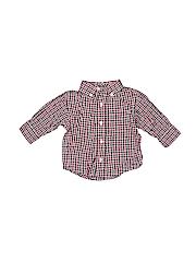 Gymboree Boys Long Sleeve Button-Down Shirt Size 3-6 mo