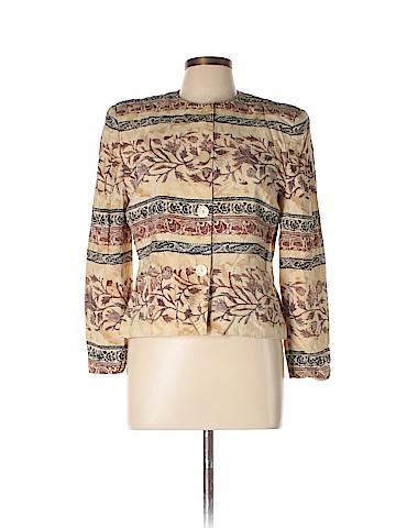 Jones New York Silk Blazer Size 12 (Petite)