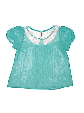 Wurl Short Sleeve Blouse Size S