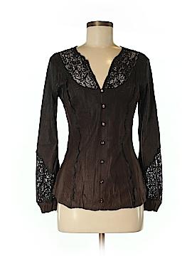 Komarov Long Sleeve Blouse Size M