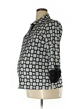 Peek-a-boo 3/4 Sleeve Blouse Size L (Maternity)