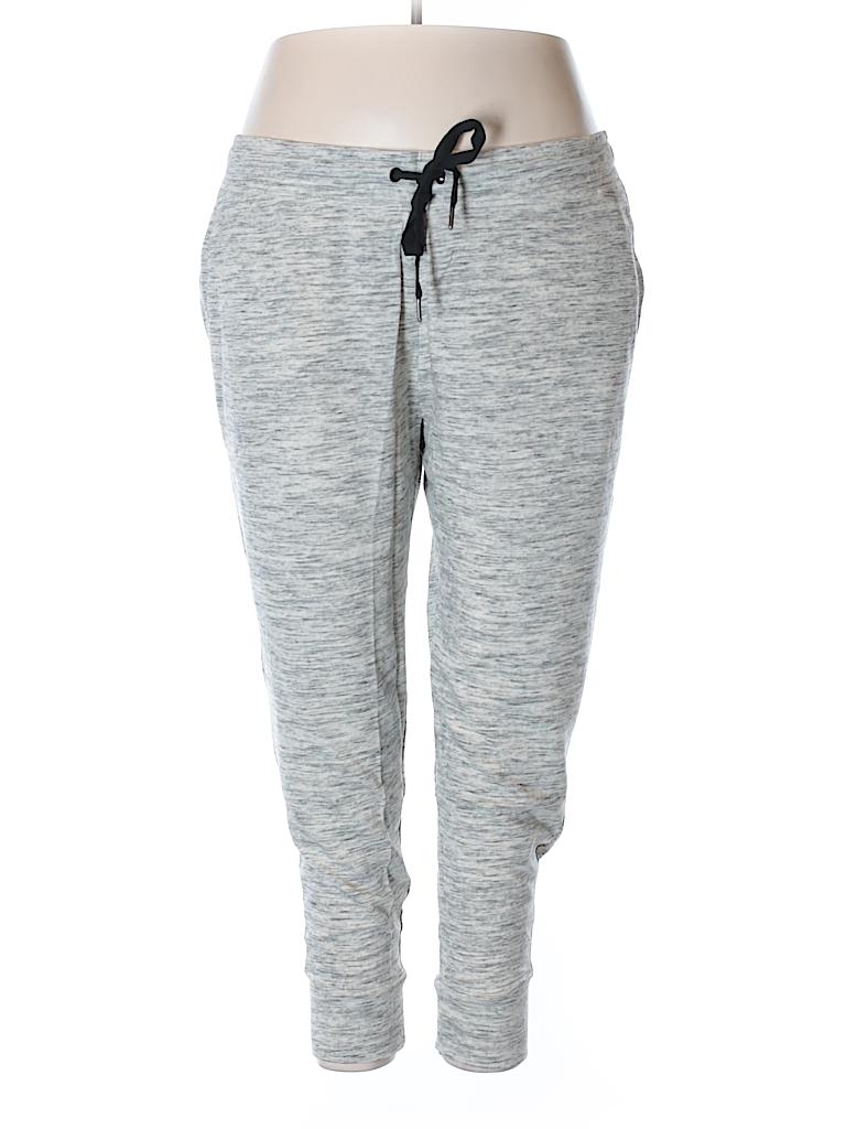 Ava & Viv Women Sweatpants Size 4X (Plus)