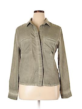 Blush Long Sleeve Blouse Size L