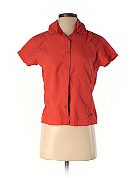 REI Short Sleeve Button-Down Shirt Size S