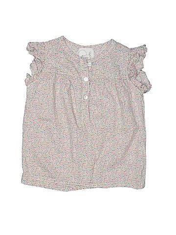 Peek... Short Sleeve Button-Down Shirt Size 2 - 3
