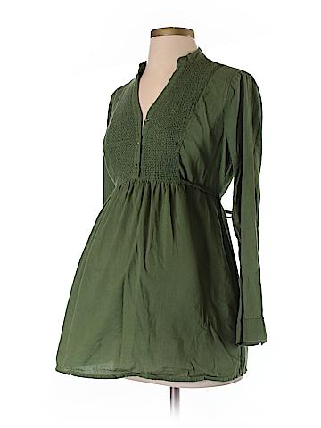 Motherhood Long Sleeve Button-Down Shirt Size S (Maternity)