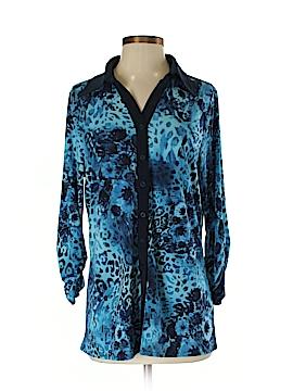 Susan Graver 3/4 Sleeve Blouse Size S