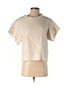 IRO Short Sleeve Blouse Size 34 (FR)