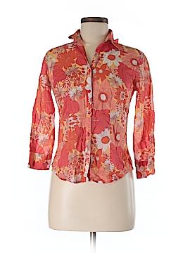 Ann Taylor LOFT Long Sleeve Button-Down Shirt Size 0
