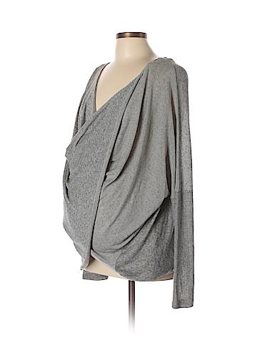 Three Seasons Maternity Pullover Sweater Size L (Maternity)