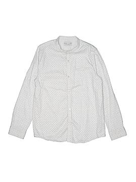 Zara Long Sleeve Button-Down Shirt Size 11/12
