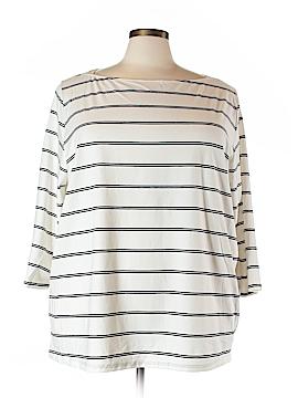 Ava & Viv 3/4 Sleeve T-Shirt Size 4X (Plus)
