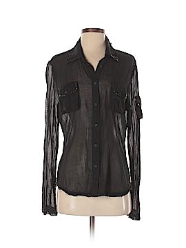 Da-Nang Long Sleeve Button-Down Shirt Size M