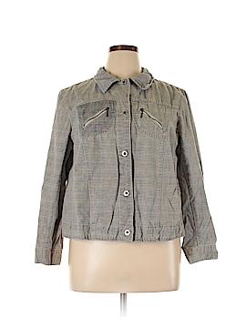 Caribbean Joe Jacket Size 1X (Plus)