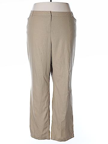 Lane Bryant Linen Pants Size 28 (Plus)
