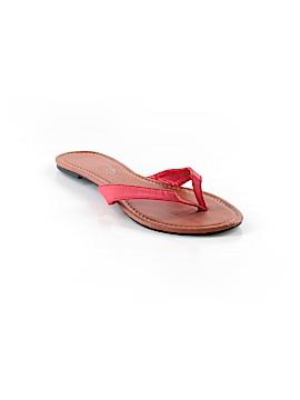 Charles Albert Flip Flops Size 7
