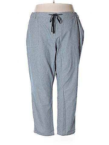 Lands' End Casual Pants Size 24 (Plus)