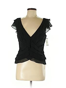 Tadashi Short Sleeve Silk Top Size 12 (UK)