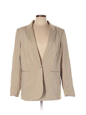 Dalia Collection Blazer Size 1X (Plus)