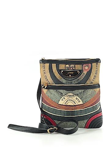 Gattinoni Leather Crossbody Bag One Size