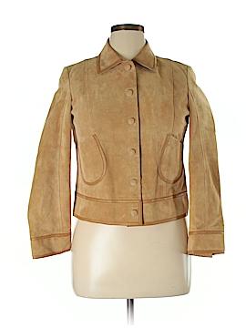 Liz Claiborne Women Faux Leather Jacket Size 12