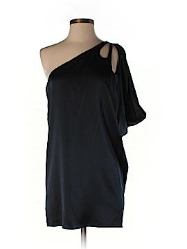 Susana Monaco Short Sleeve Silk Top Size 4