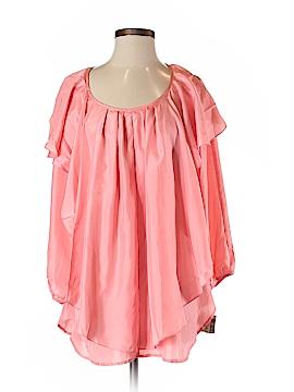 Tasha Polizzi Collection 3/4 Sleeve Silk Top Size M