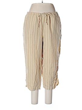 Liz Claiborne Linen Pants Size 1X (Plus)