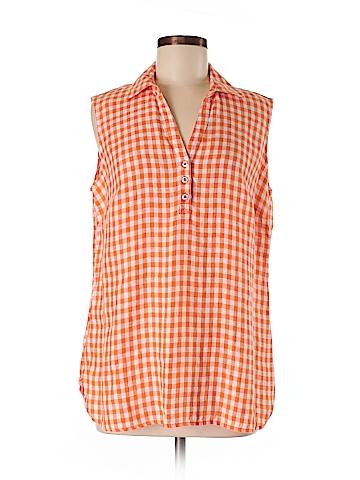 Jones New York Sport Sleeveless Button-Down Shirt Size M