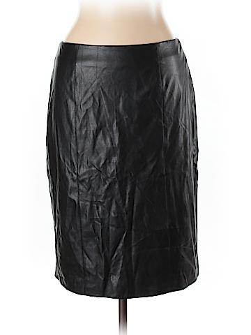 Calvin Klein Faux Leather Skirt Size 10