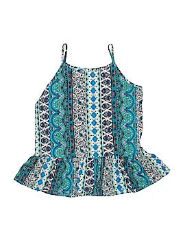 Knit Works Sleeveless Blouse Size X-Large (Youth)