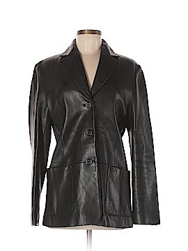 Tribal Leather Jacket Size 6