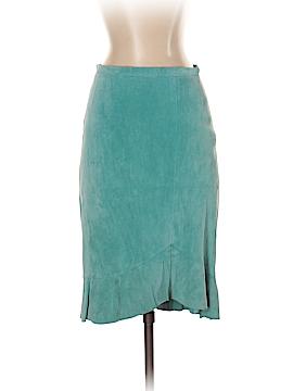 BCBGMAXAZRIA Leather Skirt Size 2