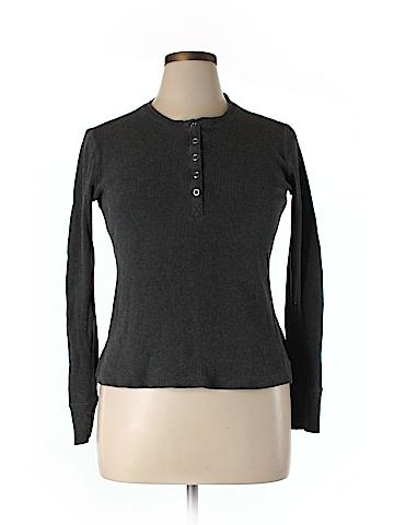 CAbi Long Sleeve Henley Size XL
