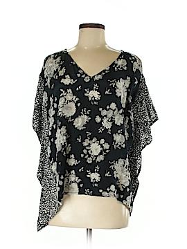Tolani Short Sleeve Silk Top Size XS