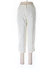 Ruby Rd. Women Linen Pants Size 4 (Petite)