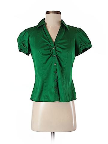 Ann Taylor LOFT Short Sleeve Button-Down Shirt Size S (Petite)