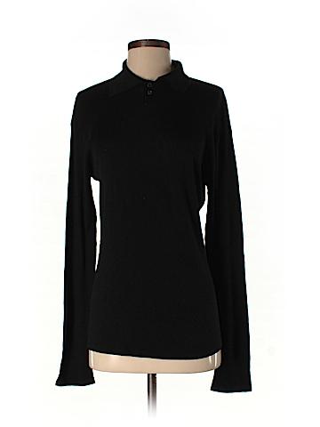 Armani Collezioni Silk Pullover Sweater Size M