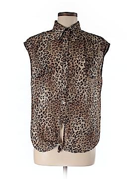 Better B Short Sleeve Blouse Size M