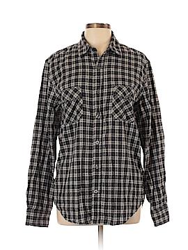 Vince. Long Sleeve Button-Down Shirt Size L