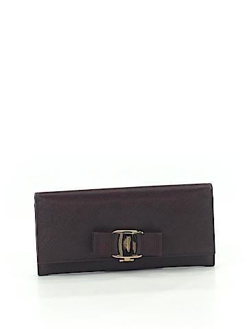 Salvatore Ferragamo Leather Wallet One Size