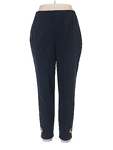 The Quacker Factory Casual Pants Size 1X (Plus)