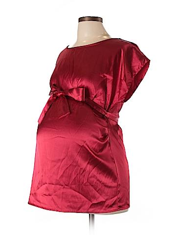 Sophia Jayne Short Sleeve Blouse Size L (Maternity)